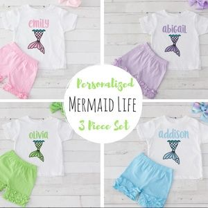 Other - Personalized Mermaid Boutique Set
